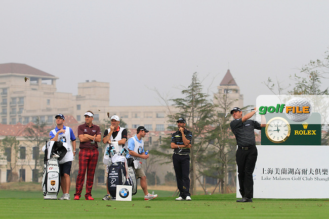 Lee Westwood (ENG) on the 6th on Day 3 of the BMW Masters 2012 at Lake Malaren Golf Club, Shanghai, China, Tuesday 26/10/12...(Photo www.golffile.ie)