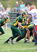 Attica Blue Devils varsity football against the Alexander Trojans at Alexander High School on September 8, 2007 in Alexander, New York.  (Copyright Mike Janes Photography)