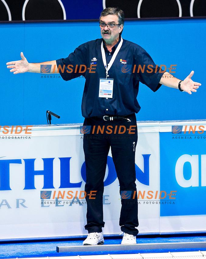Eindhoven , Netherlands (NED) 17/1/2012.LEN European  Water Polo Championships 2012.Day 02 - Men.Montenegro Vs Croatia..CRO.RUDIC Ratko..Photo Insidefoto / Giorgio Scala