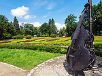 Zabytkowy Park Zdrojowy w centralnej części uzdrowiska, Kudowa-Zdrój, Polska<br /> Historic Park in the central part of the spa, Kudowa-Zdrój, Poland