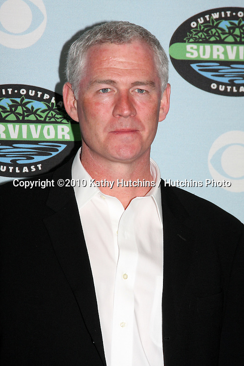 "Tom Westman_.arrivng at the ""Survivor"" 10 Year Anniverary Party .CBS Television CIty.Los Angeles, CA.January 9, 2010.©2010 Kathy Hutchins / Hutchins Photo...."