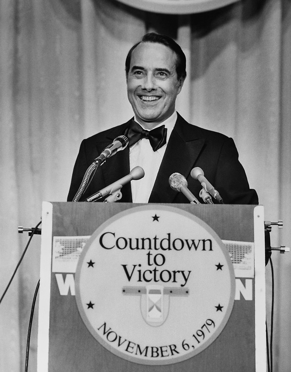 Congressman giving a speech at Countdown to Victory, on Nov. 6, 1979. (Photo by CQ Roll Call via Getty Images)