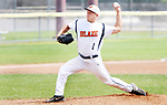 TORRINGTON CT. 04 Augusr 2017-080417SV05-#1 Billy Armstrong of Watertown Blaze pitches in the 4th inning against North Haledon Reds during the Stan Musial tournament in Torrington Friday.<br /> Steven Valenti Republican-American