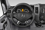 Car pictures of steering wheel view of a 2014 Mercedes Benz Sprinter 316CDi MWB 4 Door Combi 2WD Steering Wheel