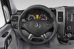 Car pictures of steering wheel view of a 2014 Mercedes Benz Sprinter 316CDi MWB 4 Door Combi 2WD Steering Wheel