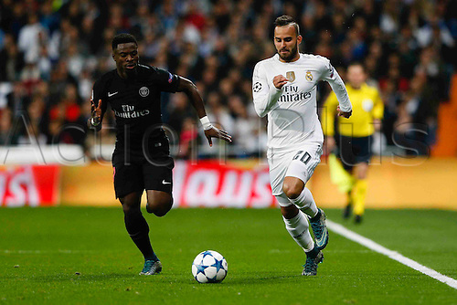 03.11.2015. Madrid, Spain.  Jese Rodriguez Ruiz (20) Real Madrid  during the soccer match UCL Champions League between Real Madrid and PSG at the Santiago Bernabeu stadium in Madrid, Spain, November 3, 2015.