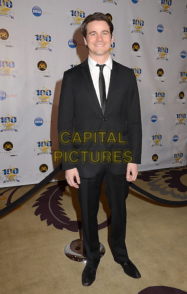 Jason Ritter.23nd Annual Night of 100 Stars Awards Gala hosted by Norby Walters celebrating the 85th Annual Academy Awards held at the Beverly Hills Hotel, Beverly Hills, California, USA..February 24th, 2013.full length black suit  .CAP/ADM/BT.©Birdie Thompson/AdMedia/Capital Pictures.