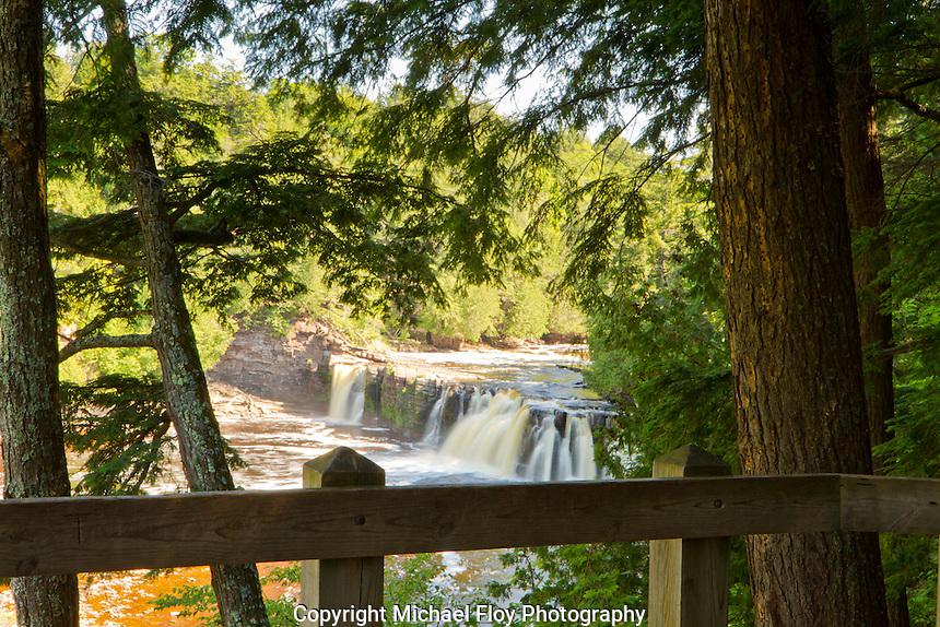 Manido Falls, Presque Isle River, Porcupine Mountains Wilderness State Park