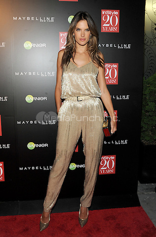 New York, NY-September 8:Alessandra Ambrosio attends Instyle 20th Anniversary Party on September 8, 2014 at Diamond Horseshoe at the Paramount Hotel in New York City.  Credit: John Palmer/MediaPunch