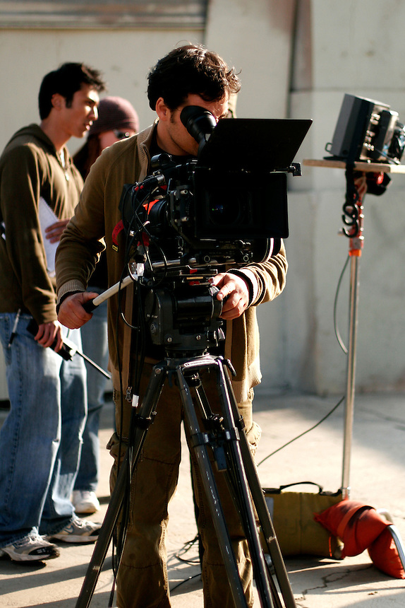 """""""Dawn"""" shoot at S. Anderson St., Los Angeles, California on March 14, 2008.   (Photo by Bryce Yukio Adolphson,  © 2009)"""