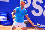 24th April 2019, Real Club de Tenis, Barcelona, Spain; ATP 500, Barcelona Open Banc Sabadell, day 3; picture show Rafael Nadal (ESP) vs Leonardo ayer (ARG)