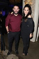 LOS ANGELES, CA - NOVEMBER 8: Guillermo Díaz, Edy Ganem, at the Eva Longoria Foundation Dinner Gala honoring Zoe Saldana and Gina Rodriguez at The Four Seasons Beverly Hills in Los Angeles, California on November 8, 2018. Credit: Faye Sadou/MediaPunch