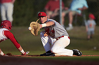 Illinois State Redbirds first baseman Brian Rodemoyer (30) during a game against the Ohio State Buckeyes on March 5, 2016 at North Charlotte Regional Park in Port Charlotte, Florida.  Illinois State defeated Ohio State 5-4.  (Mike Janes/Four Seam Images)