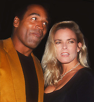 OJ Simpson Nicole Simpson 1993<br /> Photo By John Barrett/PHOTOlink