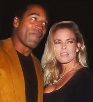 OJ Simpson Nicole Simpson 1993<br /> Photo By John Barrett/PHOTOlink