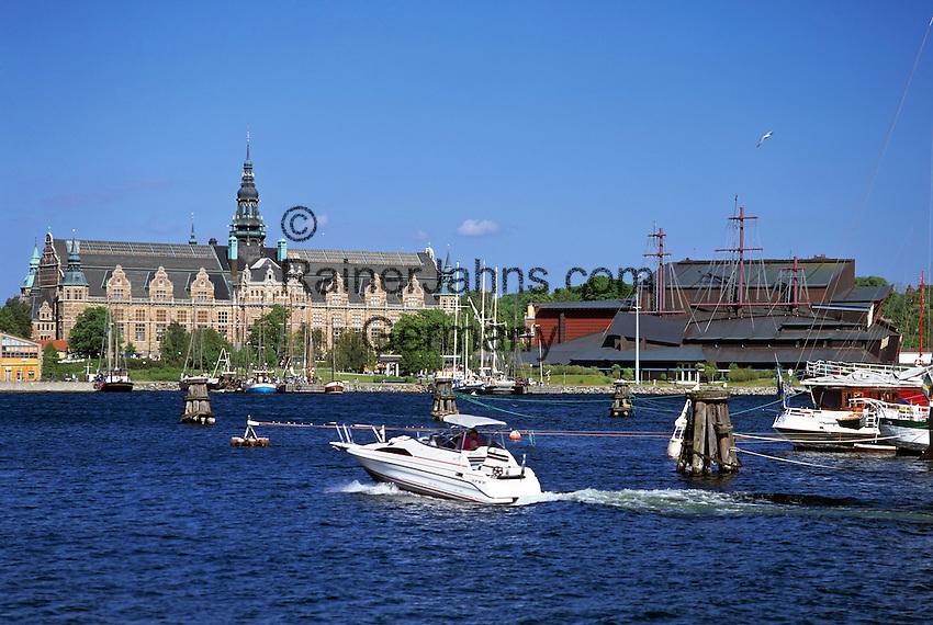 Sweden, Stockholm: Nordiska-Museum and Vasa-Museum | Schweden, Stockholm: Nordiska-Museum und Vasa-Museum