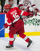 Matt Buckles,Cornell University, Big Red,Cornell,Jake Horton,Harvard University, Crimson, - The Harvard University Crimson defeated the visiting Cornell University Big Red on Saturday, November 5, 2016, at the Bright-Landry Hockey Center in Boston, Massachusetts.