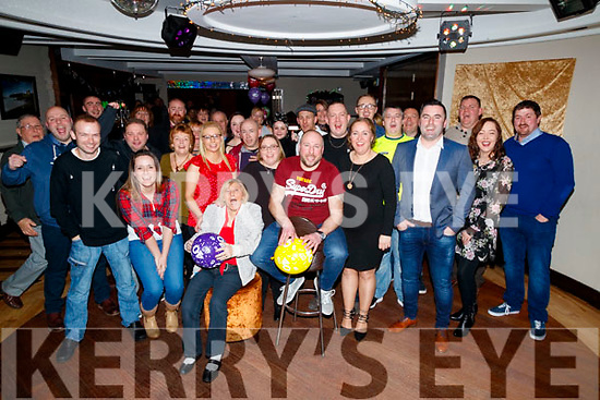 Patrick Baily, Laurel Court, Tralee, who celebrated his 40th birthday with family and friends at Benners Hotel, Tralee, on Saturday night last.