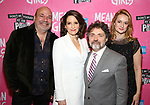 Casey Nicholaw, Tina Fey, Jeff Richmond and Nell Benjamin attends the Broadway Opening Night After Party for 'Mean Girls' at Tao on April 8, 2018 in New York City.