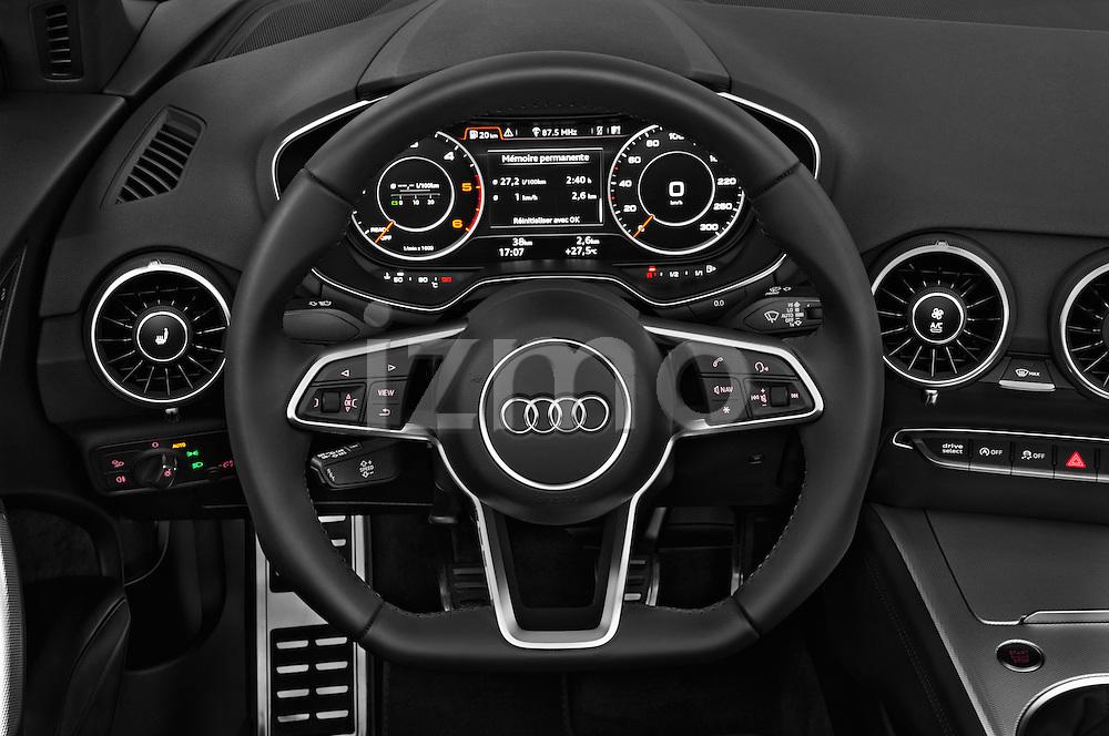 Car pictures of steering wheel view of a 2016 Audi TT-Roadster - 2 Door Convertible Steering Wheel
