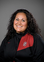 Claire Amundson of the Stanford softball team.