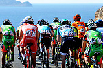 Action from Stage 2 of the Presidential Cycling Tour of Turkey 2017 running 206km from Kumluca to Fethiye, Turkey. 11/10/2017.<br /> Picture: Brian Hodes/VeloImages | Cyclefile<br /> <br /> <br /> All photos usage must carry mandatory copyright credit (&copy; Cyclefile | Brian Hodes/VeloImages)