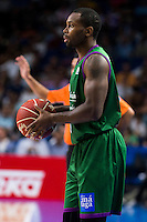 Unicaja Malaga's player Oliver Lafayette during match of Liga Endesa at Barclaycard Center in Madrid. September 30, Spain. 2016. (ALTERPHOTOS/BorjaB.Hojas) /NORTEPHOTO.COM