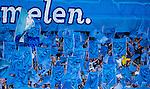 Stockholm 2014-07-07 Fotboll Allsvenskan Djurg&aring;rdens IF - IF Elfsborg :  <br /> Djurg&aring;rdens supportrar med flaggor<br /> (Foto: Kenta J&ouml;nsson) Nyckelord:  Djurg&aring;rden DIF Tele2 Arena Elfsborg IFE supporter fans publik supporters
