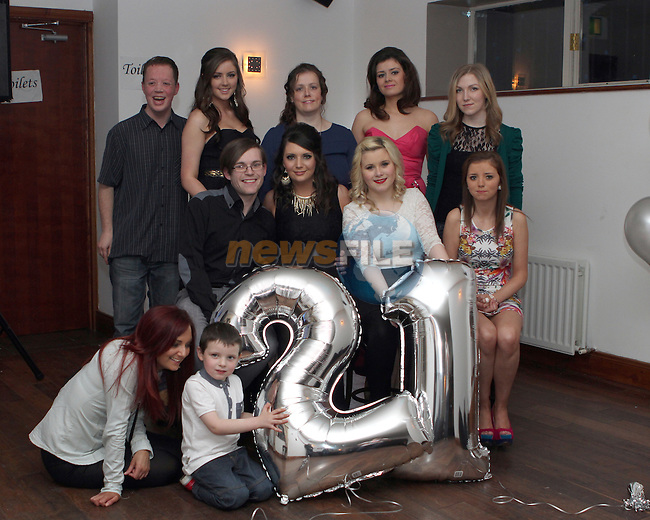 Rachel Service celebrates her 21st in McHughs...(Photo credit should read Jenny Matthews/NEWSFILE)...