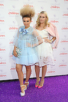 Tallia Storm, Tessie Hartmann at the 2015 Butterfly Ball, in aid of the Caudwell Children Charity, at the Grosvenor House Hotel. <br /> June 25, 2015  London, UK<br /> Picture: James Smith / Featureflash