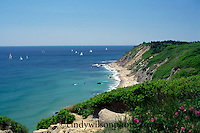 Sailing by the Bluffs, Block Island