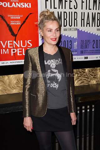 "Emmanuelle Seigner attending the ""Venus In Fur"" (german title: Venus im Pelz) premiere during Filmfest Hamburg held at Passage Kino, Hamburg, Germany, 29.09.2013. Photo by Christopher Tamcke/insight media /MediaPunch Inc. ***FOR USA ONLY***"