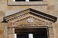Europe/France/Aquitaine/33/Gironde/Bordeaux: Détail fenêtre rue J-J. Rousseau