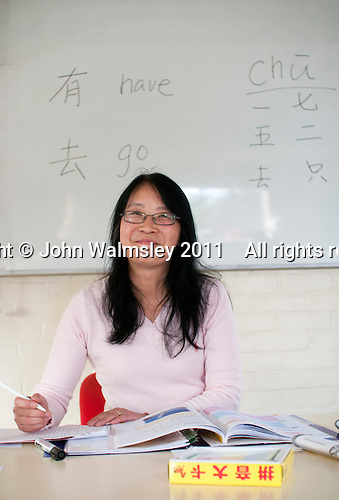 Tutor, Mandarin Chinese class, Adult Learning Centre, Guildford, Surrey.