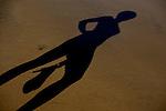 Shadow in Canteras Beach. La Palmas de Gran Canaria. ©Juan Naharro Gimenez.