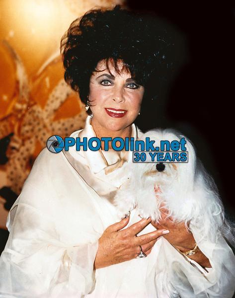 Elizabeth Taylor 1994<br /> Photo By Jesse Nash/PHOTOlink.net