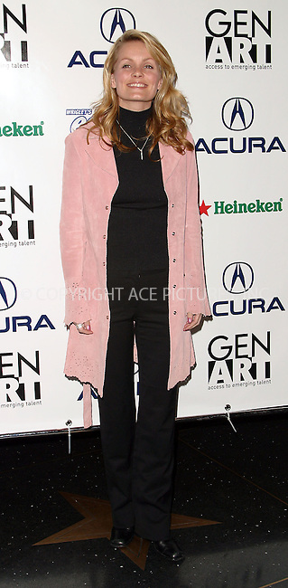 "KELLY PACKARD attends the premiere of ""Kiss the Bride"" during the 8th Annual Gen Art Film Festival. New York, April 2, 2003. Please byline: Alecsey Boldeskul/NY Photo Press.   ..*PAY-PER-USE*      ....NY Photo Press:  ..phone (646) 267-6913;   ..e-mail: info@nyphotopress.com"