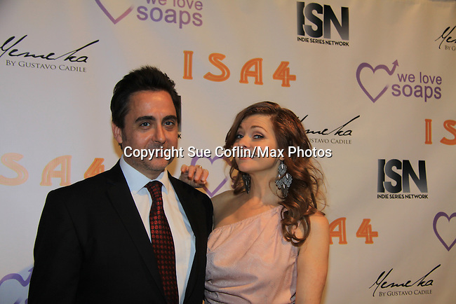 Anne Sayre - We Love Soaps and The Indie Series Network present the 4th Annual Indie Soap Awards - ISAs on February 19, 2013 from New World Stages, New York City, New York -  (Photo by Sue Coflin/Max Photos)