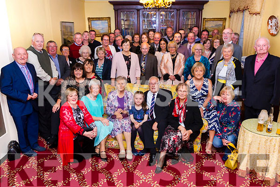 Mary & Brod O'Sullivan seated front centre from Waterville celebrated the Diamond anniversary with family and friends in the Butler Arms Hotel, Waterville on Saturday night.