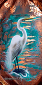 Sandi, REALISTIC ANIMALS, REALISTISCHE TIERE, ANIMALES REALISTICOS, paintings+++++copperegret,USSN14,#a#, EVERYDAY,heron ,puzzles