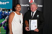 Administrator of the Year  Gary Martin from the Counties Manukau Rugby Football Union.  Counties Manukau Sport Sporting Excellence Awards held at the Telstra Clear Pacific Events Centre Manukau on December 1st 2011.