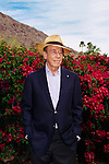 Isadore Sharpe, founder and chairman of the Four Seasons Hotels and Resorts, poses for a portrait at his home in Palm Springs, California, March 11, 2016. <br /> <br /> Photo by Kendrick Brinson