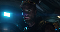 Avengers: Infinity War (2018) <br /> Chris Hemsworth<br /> *Filmstill - Editorial Use Only*<br /> CAP/KFS<br /> Image supplied by Capital Pictures