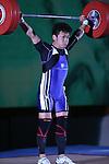 Masakazu Ioroi, <br /> MAY 21, 2016 - Weightlifting : <br /> All Japan Weightlifting Championship 2016 Men's -69kg <br /> at Yamanashi Municipal Gymnasium, Yamanashi, Japan. <br /> (Photo by AFLO SPORT)