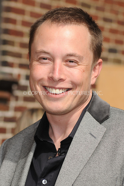 WWW.ACEPIXS.COM . . . . . ....April 29 2009, New York City....Entrepreneur Elon Musk made an appearance at the 'Late Show With David Letterman' at the Ed Sullivan Theater on April 29, 2009 in New York City. ....Please byline: KRISTIN CALLAHAN - ACEPIXS.COM.. . . . . . ..Ace Pictures, Inc:  ..tel: (212) 243 8787 or (646) 769 0430..e-mail: info@acepixs.com..web: http://www.acepixs.com