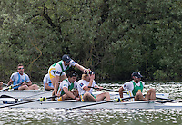Lucerne, SWITZERLAND<br /> <br /> 2016 European Olympic Qualifying Regatta, Lake Rotsee.<br /> <br /> Tuesday  24/05/2016<br /> <br /> [Mandatory Credit; Peter SPURRIER/Intersport-images]