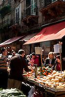 Il Capo markets, Palermo, Sicily, Italy