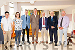 Greater Kenmare Athltic Reunion Held in the Kenmare Bay Hotel 08-09-2019 <br /> John Egan, Maureen Harrington, George Maybury, Peter Maher, Tadgh O' Donoghue, Dr Micheal H.B. Hayes, Jimmy (the runner) O Sullivan