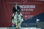 Jerome Guery of Belgium riding on Alicante competes during the EEM Trophy, part of the Longines Masters of Hong Kong on 10 February 2017 at the Asia World Expo in Hong Kong, China. Photo by Juan Serrano / Power Sport Images