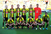 The Phoenix starting XI for the A-League football match between Wellington Phoenix and Adelaide United at Westpac Stadium in Wellington, New Zealand on Saturday, 27 January 2018. Photo: Dave Lintott / lintottphoto.co.nz